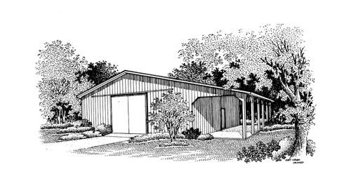 Garage 100 for Breland homes website
