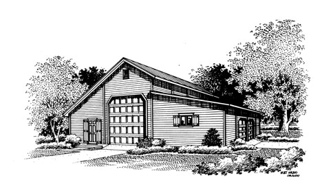 Garage 104 for Breland homes website