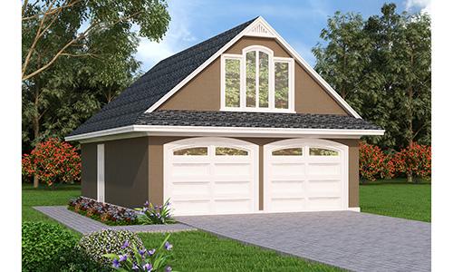 Garage 105 for Breland homes website