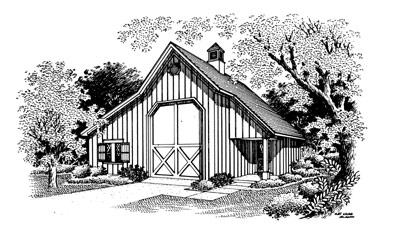 Garage 107 for Breland homes website