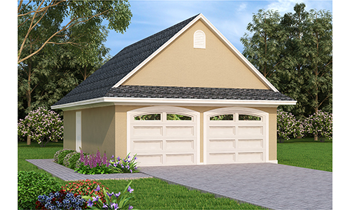 Garage 108 for Breland homes website